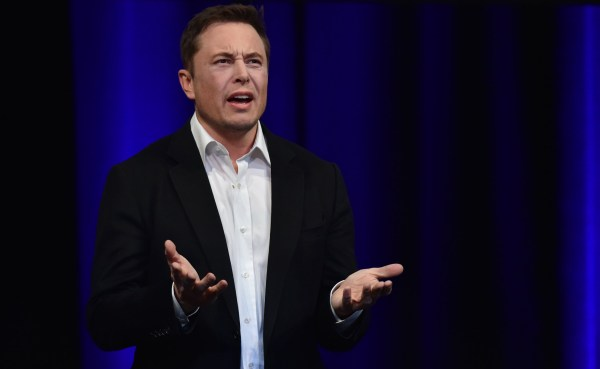 Billionaire entrepreneur and founder of SpaceX Elon Musk speaks at the 68th International Astronautical Congress 2017 in Adelaide on September 29, 2017. - Musk said his company SpaceX has begun serious work on the BFR Rocket as he plans an Interplanetary Transport System. (Photo by PETER PARKS / AFP) (Photo credit should read PETER PARKS/AFP/Getty Images)