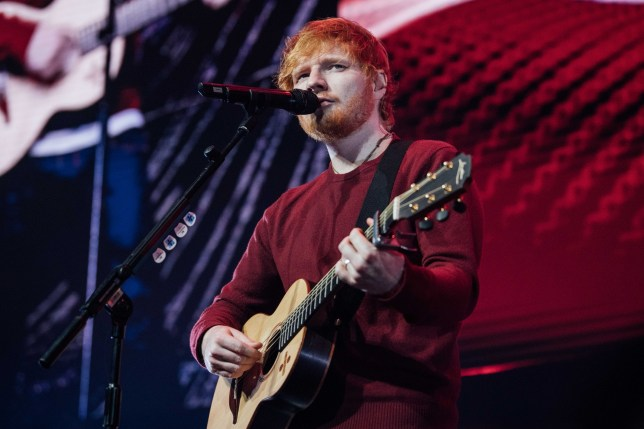 Editorial Use Only Mandatory Credit: Photo by Scott Garfitt/REX/Shutterstock (9983624d) Ed Sheeran Music 4 Mental Health, Roundhouse, London, UK - 18 Nov 2018