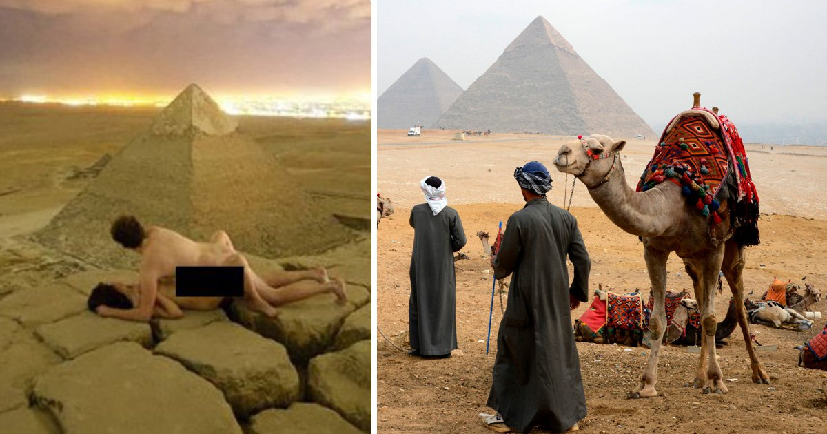 Camel driver arrested for helping photographer have sex on top of Great Pyramid