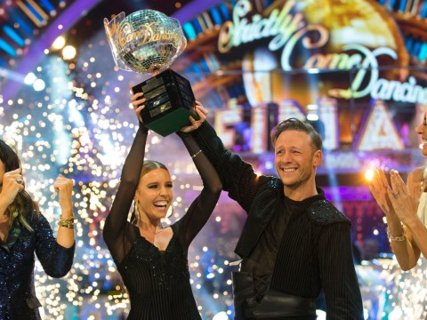 Stacey Dooley lost her Glitterball trophy hours after winning Strictly
