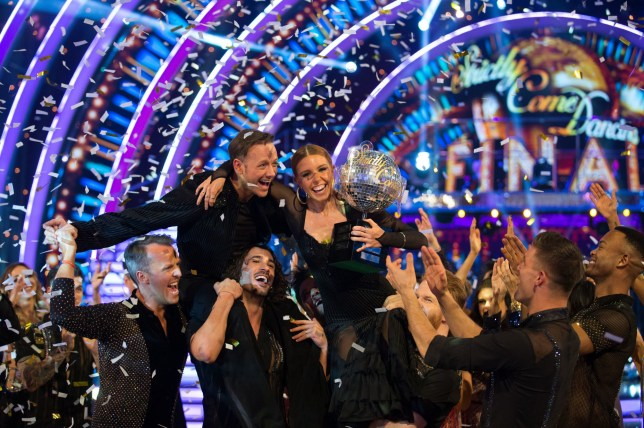 stacey dooley winning strictly 2018