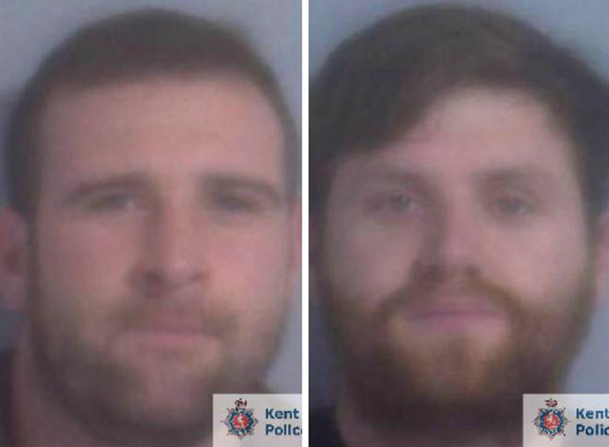(Picture: Kent Police) The life of a taxi driver was put at risk when two men set fire to his car on a petrol station forecourt in Hythe. As a result, the men responsible have been jailed for more than five years each. The driver collected Warren Hearne (left) and Danny Frost from Romney Marsh on Friday 15 December 2017 following their night out in the local area. The pair got into the taxi and asked the man to stop at a nearby petrol station so they could buy some beer. The driver pulled into the garage in Seabrook Road, Hythe at around 11pm as requested but neither of his passengers went inside for beer. Instead Hearne, 36, opened the back door of the taxi and started acting suspiciously. The incident was captured on CCTV, which showed Hearne loitering outside the taxi before stumbling into a petrol pump. He then took the pump and pointed it into the back seat of the car. A small amount of petrol was poured onto the seats before the driver realised what was happening and got out of the car. Moments later the seat was alight and both Hearne and his accomplice Frost, 27 ran away.