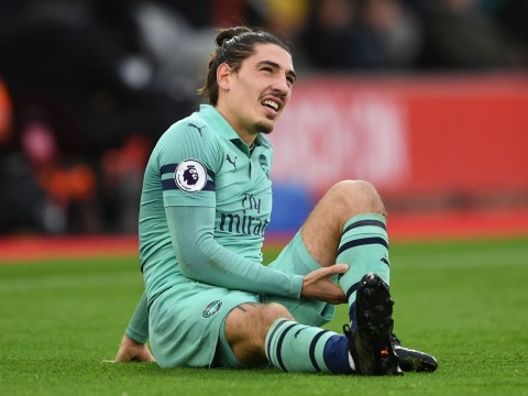 Unai Emery reveals Hector Bellerin injury blow after Arsenal's defeat to Southampton