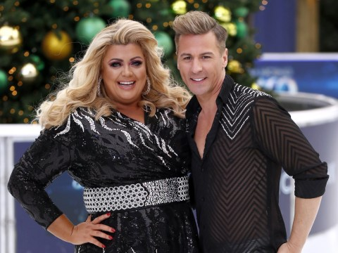 Dancing On Ice's Gemma Collins 'breaks rules' by lifting partner Matt Evers in first routine
