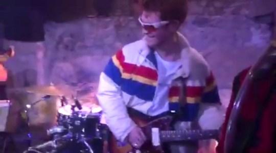 KJ Apa shreds on the guitar (Picture: kjapa/instagram)