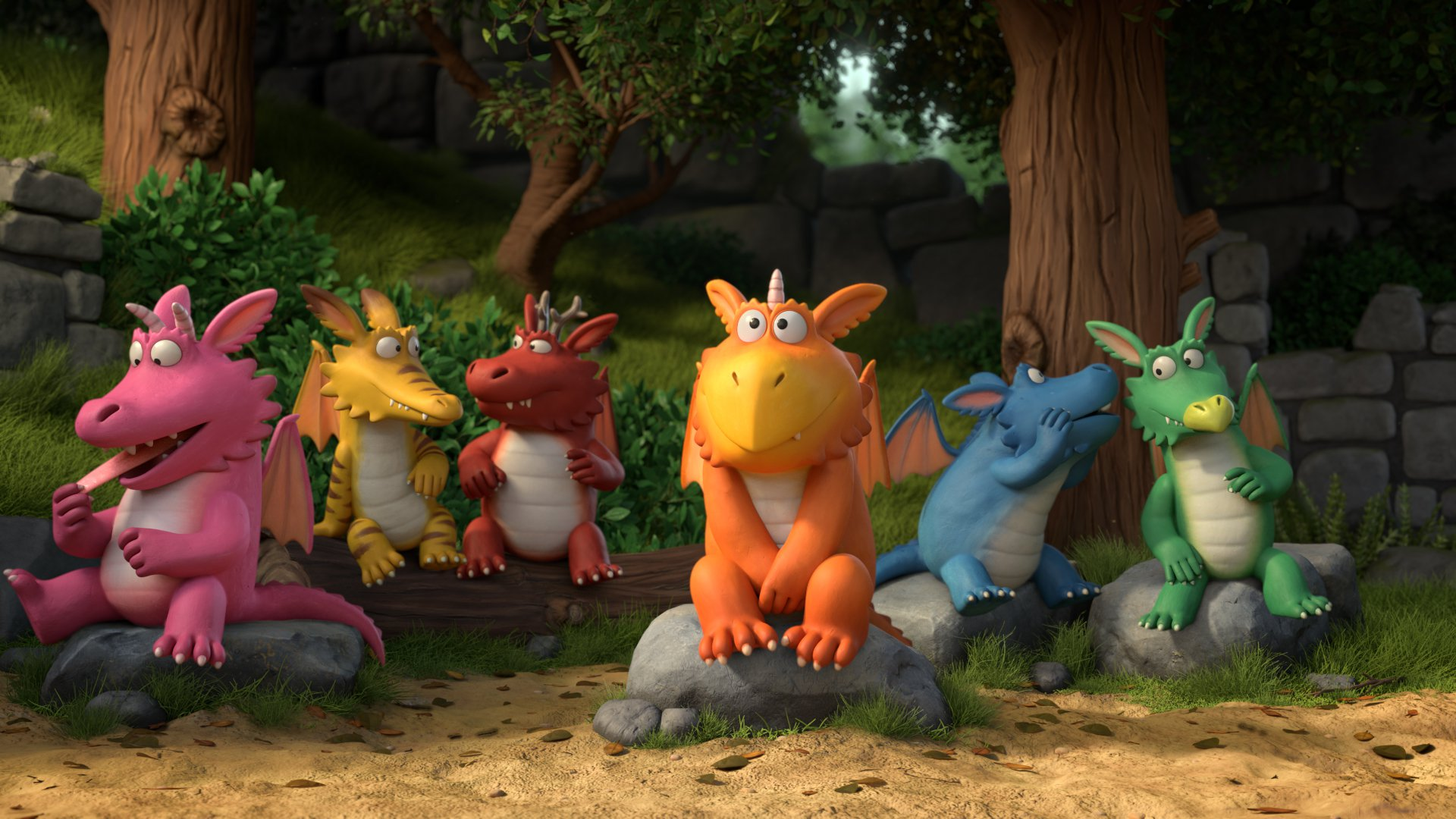 What time is Zog on BBC One on Christmas Day and what's it about?