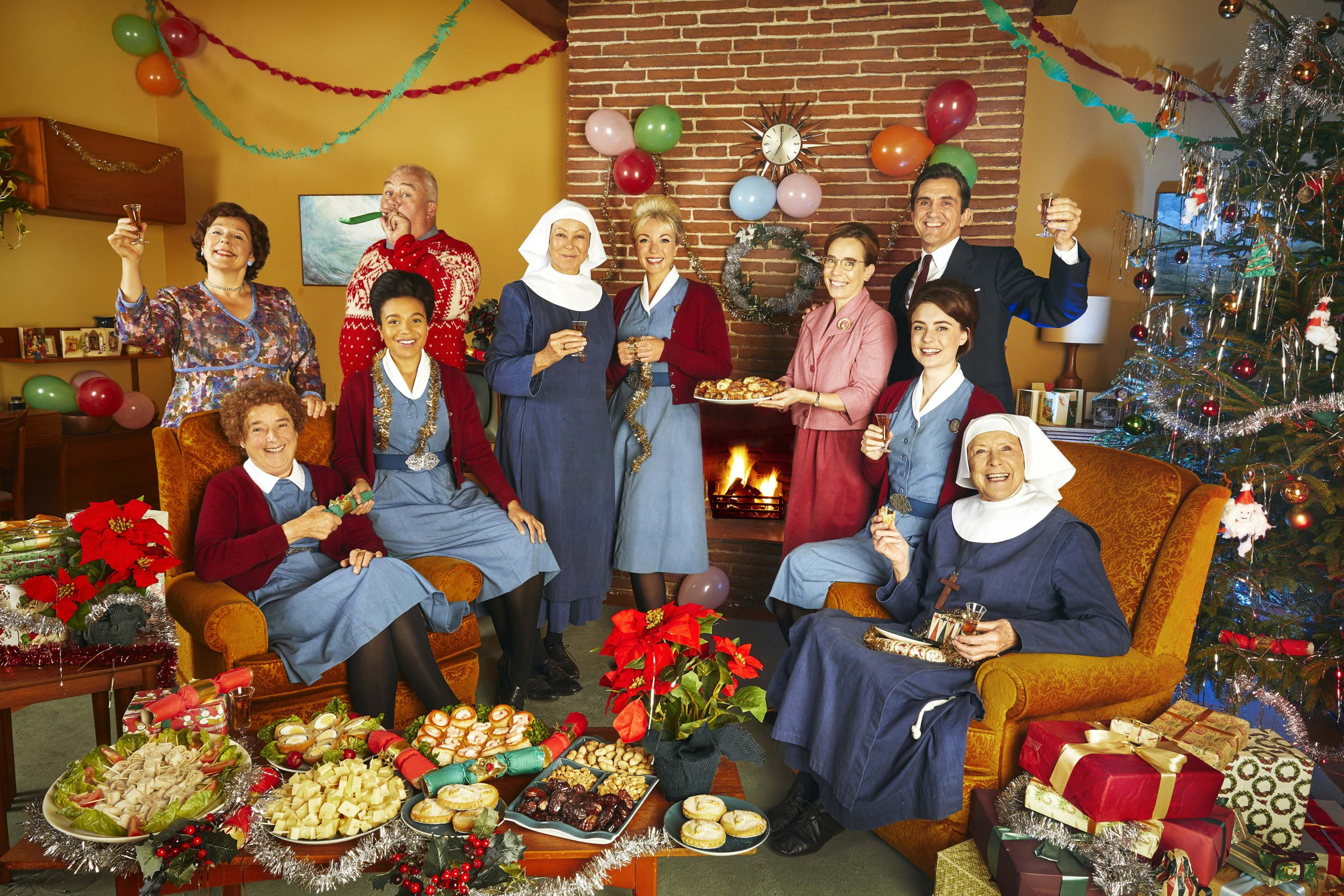 What time is Call The Midwife on Christmas Day and what can you expect from the special episode?