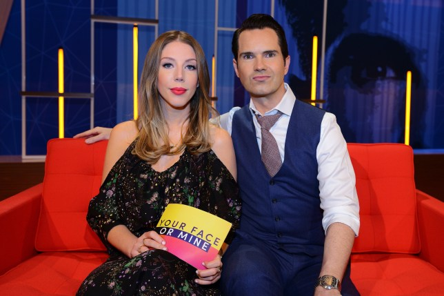 Television programme: Your Face Or Mine - Katherine Ryan & Jimmy Carr