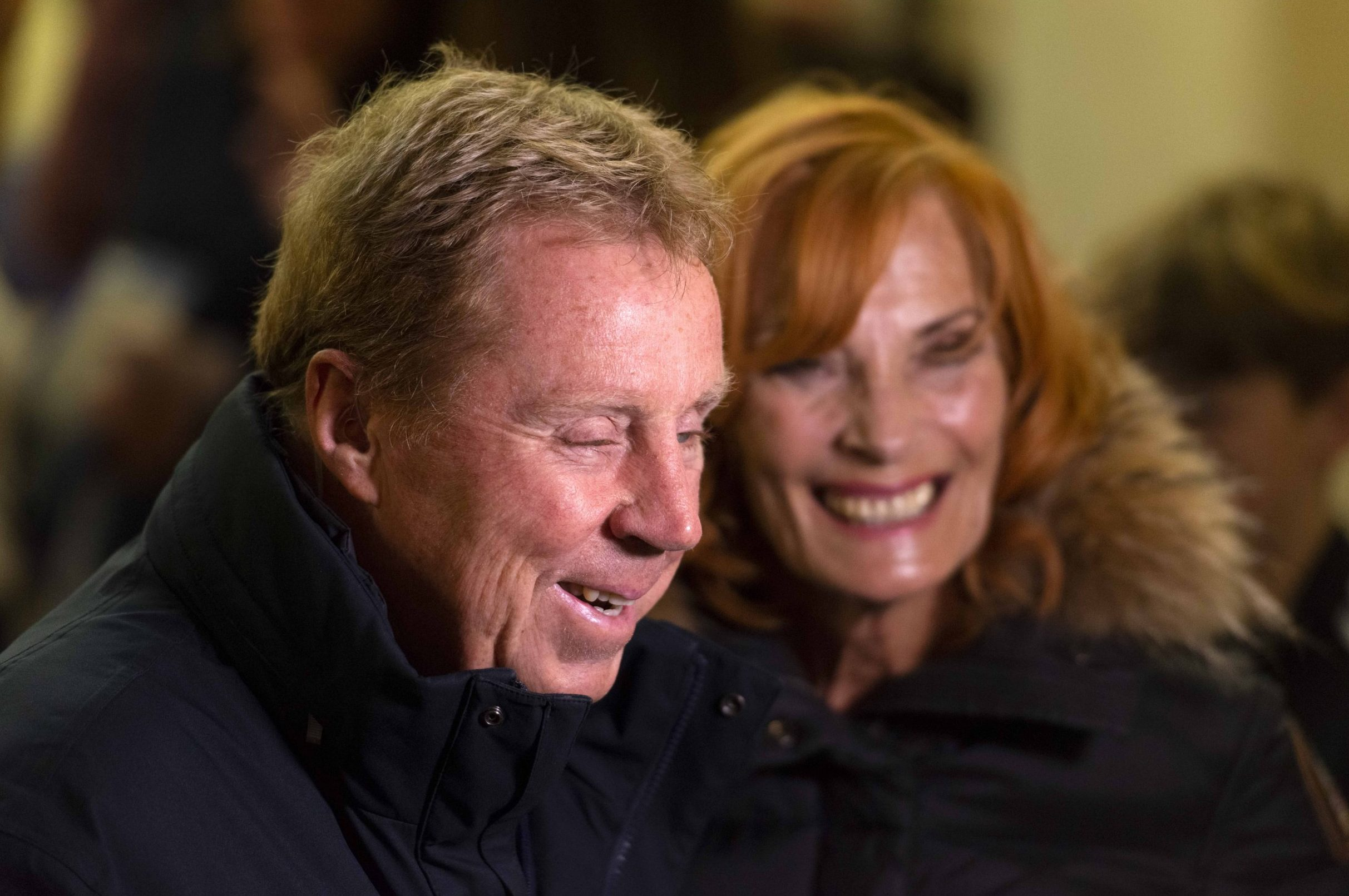 I'm A Celebrity's Harry Redknapp and wife Sandra look loved-up as they feed the homeless