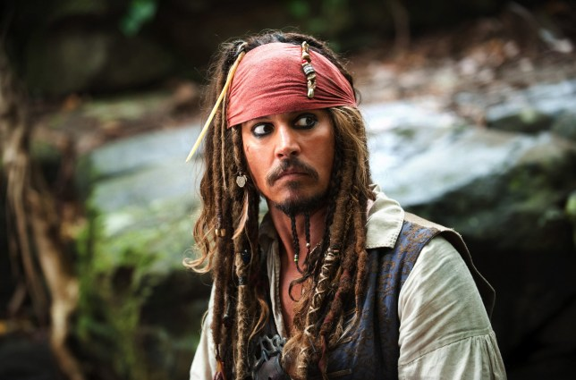 Editorial use only. No book cover usage. Mandatory Credit: Photo by Disney/Kobal/REX/Shutterstock (5886222an) Johnny Depp Pirates Of The Caribbean - On Stranger Tides - 2011 Director: Rob Marshall Walt Disney Pictures USA Scene Still Action/Adventure Pirates des Cara?bes : la Fontaine de Jouvence