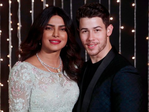 Nick Jonas and Priyanka Chopra are seriously loved up as they celebrate first Christmas as a married couple