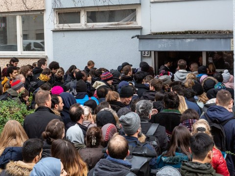 Hundreds turn out to flat viewing as affordable housing crisis hits Berlin