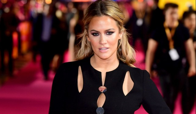 "Embargoed to 0001 Saturday December 22 File photo dated of Caroline Flack, who has said she struggled with the skin-tight dresses and high heels worn by dancers when she appeared on Strictly Come Dancing. PRESS ASSOCIATION Photo. Issue date: Saturday December 22, 2018. The Love Island host and Strictly winner, 39, said the revealing costumes ""scared"" her when she competed in 2014. See PA story Television SHOWBIZ StrictlyChristmas. Photo credit should read: Ian West/PA Wire"