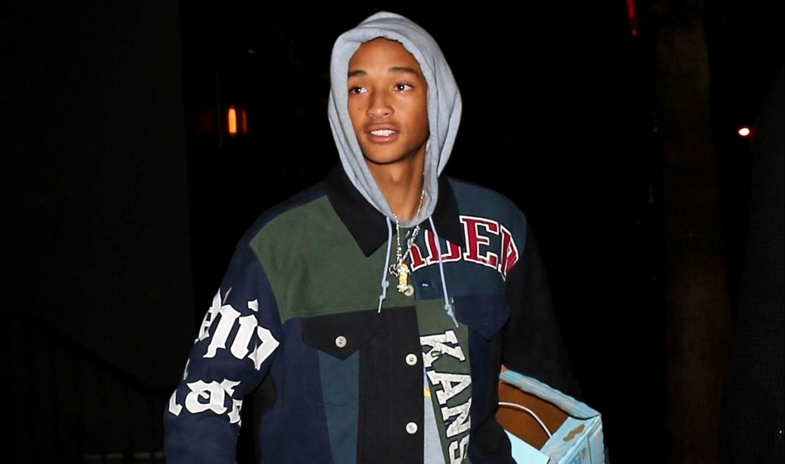 Jaden Smith steps out solo for Travis Scott's party after recent 'dates' with mystery women
