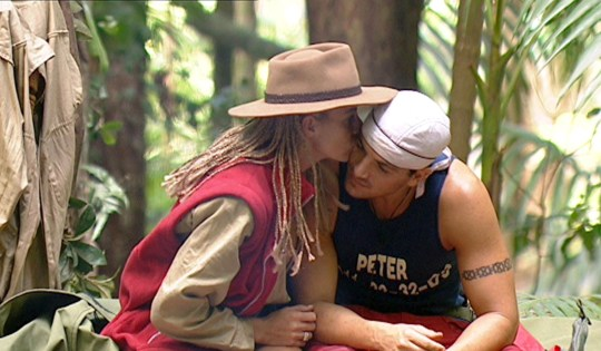 Editorial use only Mandatory Credit: Photo by ITV/REX/Shutterstock (443235aa) Jordan [Katie Price] [KATIE PRICE] AND PETER ANDRE 'I'M A CELEBRITY, GET ME OUT OF HERE' TV PROGRAMME, AUSTRALIA - 04 FEB 2004