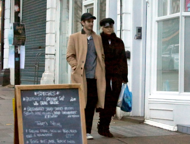 EXCLUSIVE: PREMIUM EXCLUSIVE - NO WEB until Tuesday, December 25th at 11am EST- NO NY PAPERS----First pictures of Actor Andrew Garfield pictured shopping with Singer Rita Ora in Primrose Hill, London, England. The pair looked very intimate as they walked down the street with their arms linked. These pictures putting to bed the rumours the pair are a couple. Pictured: Andrew Garfield,Rita Ora Ref: SPL5051550 231218 EXCLUSIVE Picture by: Jani Jance/Splash news / SplashNews.com Splash News and Pictures Los Angeles: 310-821-2666 New York: 212-619-2666 London: 0207 644 7656 Milan: 02 4399 8577 photodesk@splashnews.com World Rights