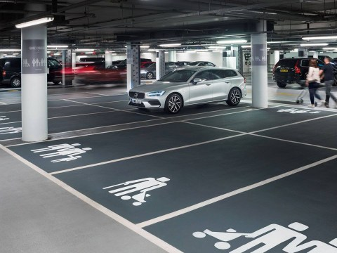 New 'modern family' parking spaces baffle drivers at Westfield shopping centre