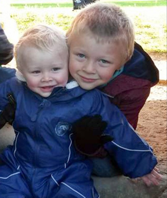 ***COPYRIGHT UNKNOWN USE AT OWN RISK - IDD BY FAMILY MEMBER*** Pic from Caters News - (Pictured: (L-R) Casper Platt-May, 2 and Corey Taylor Platt-May, 6, who died in a hit and run in Coventry on Thursday 22nd February afternoon.) -Dangerous driver who took the lives of two young brothers earlier this year has been found dead in his cell on Christmas Day. 53 year old Robert was sentenced to nine years in prison after fatally hitting Corey Platt-May, 6, and brother Casper, 2, in a disgraceful hit and run whilst they walked to school with their mum, Louise Platt-May in Coventry earlier this year. The criminal, who had over thirty driving offences prior to this hit and run, and was found with both alcohol and cocaine in his system at the time, was travelling double the speed limit when hitting both brothers. Robert was found dead in his cell at HMP Dovegate in Uttoxeter, Stafforshire. A coroners inquest will take place in due course.