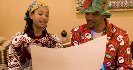 Willow Smith schools dad Will on how wrong Baby It's Cold Outside is Credit: Will Smith