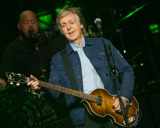 December 14, 2018 - Sir Paul McCartney in concert at The SSE Hydro, Glasgow, Great Britain 14th December 2018 (Credit Image: ?? RMV via ZUMA Press)