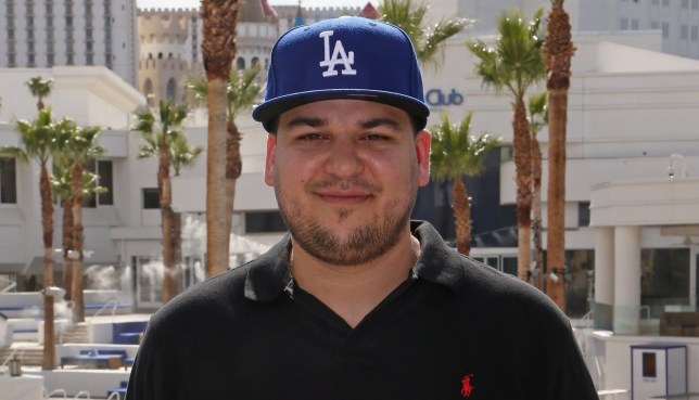 Rob Kardashian attends the Sky Beach Club at the Tropicana Las Vegas