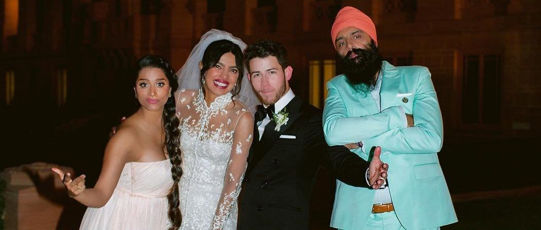 Lilly Singh shares adorable snap from Nick Jonas and Priyanka Chopra's wedding