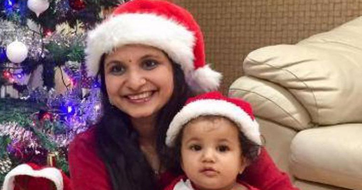 Mother and baby enjoy Christmas together days before fatal Iceland crash