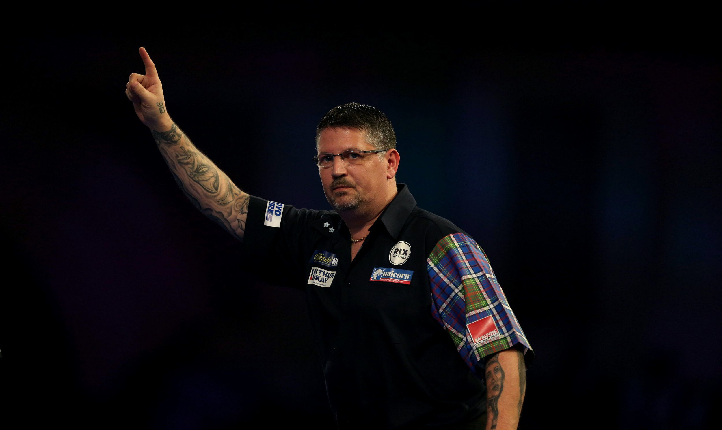 Gary Anderson 'hasn't thrown much at all' ahead of UK Open return