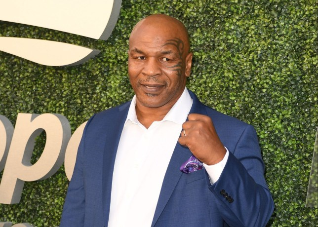 Mandatory Credit: Photo by Larry Marano/REX/Shutterstock (9809193p) Mike Tyson Opening Ceremony, Arrivals, US Open Tennis Tournament, Billie Jean King Tennis Center, New York, USA - 27 Aug 2018