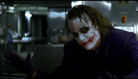 The Dark Knight actor reveals how The Joker's pencil trick