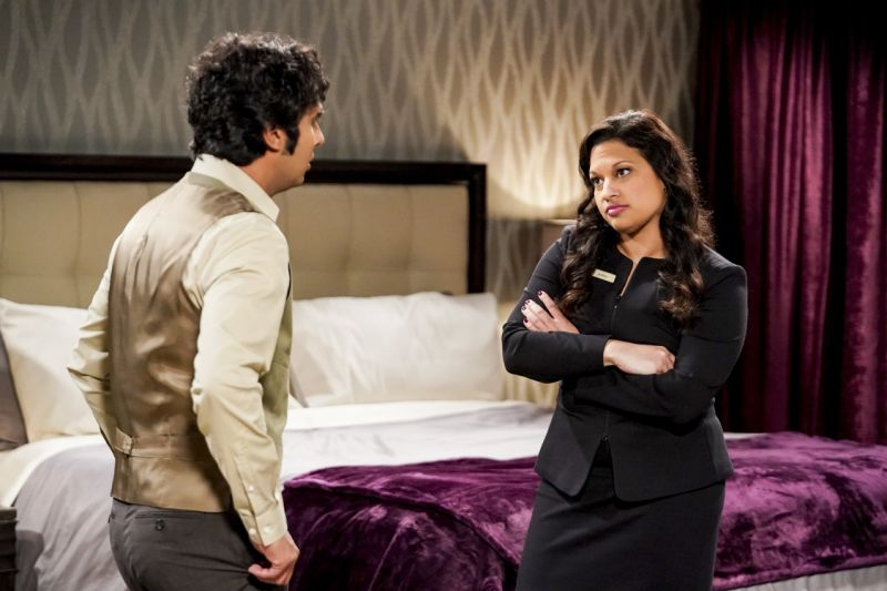 The Big Bang Theory: Blast from the past causes a big problem for Koothrappali and Anu ahead of finale