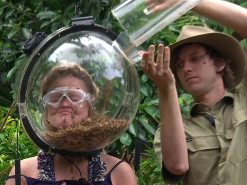 I'm a Celebrity's Emily Atack gets face trapped in cage filled with bugs for horrifying final Bushtucker trial