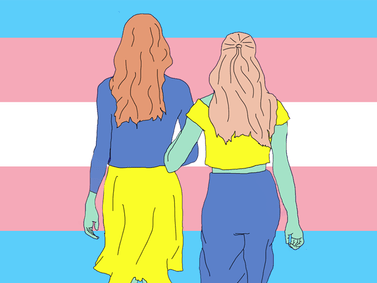 This Valentine's Day, reach out to your trans friends and remind them they're worthy of love
