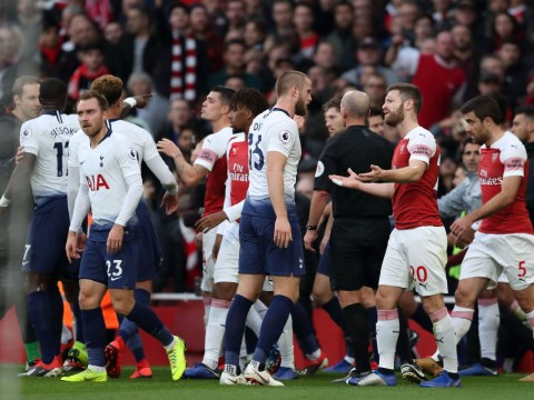 Aaron Ramsey speaks out on touchline scrap with Eric Dier after Arsenal beat Tottenham