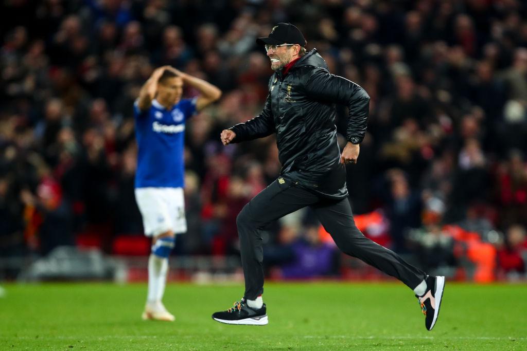 Liverpool manager Jurgen Klopp slammed for 'disrespectful' celebration against Everton