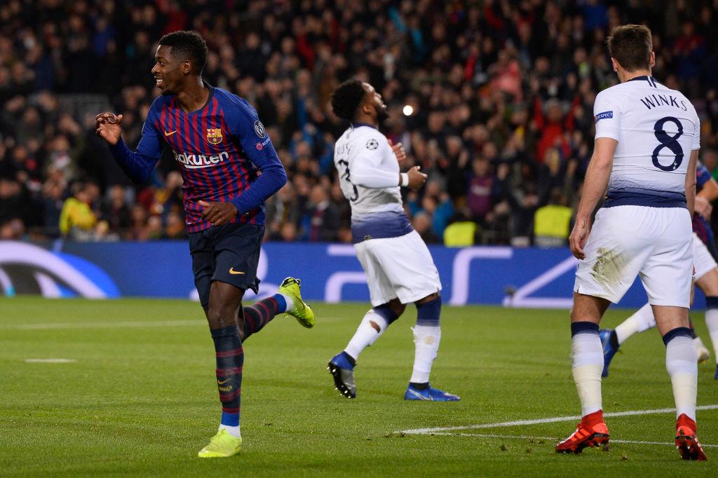 Arsenal fans hail Ousmane Dembele as a club legend after goal against Tottenham