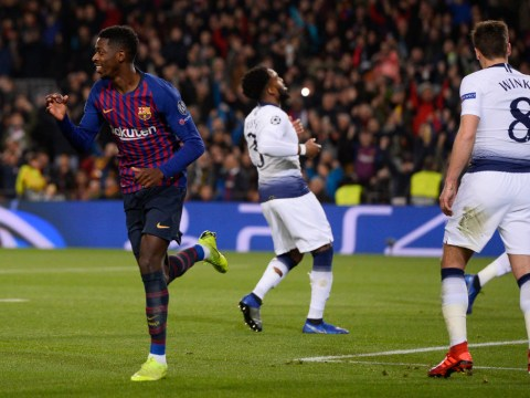 Arsenal fans hail Ousmane Dembele as a club legend after goal against Tottenham