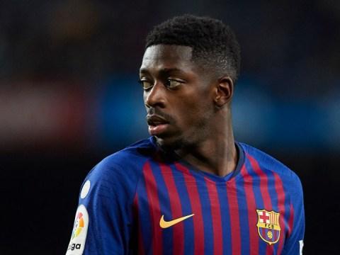 Arsenal target Ousmane Dembele turns up to Barcelona training late again