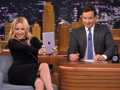 Jimmy Fallon once tried to date Kate Hudson but wound up in the friend zone