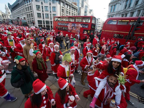 When is SantaCon London 2018, what is the route and do you need a ticket?