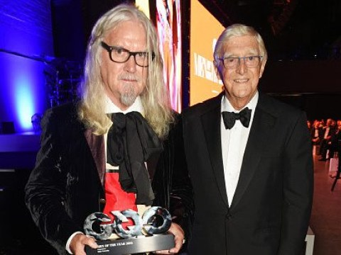 Billy Connolly heals rift with Michael Parkinson over saying Parkinson's had 'dulled' his brain