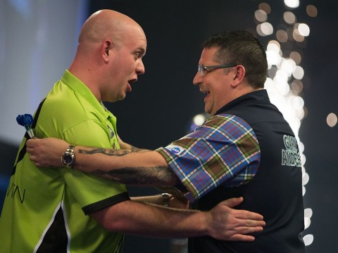 Michael van Gerwen says it's him or Gary Anderson to win the PDC World Championship, and the bookies agree