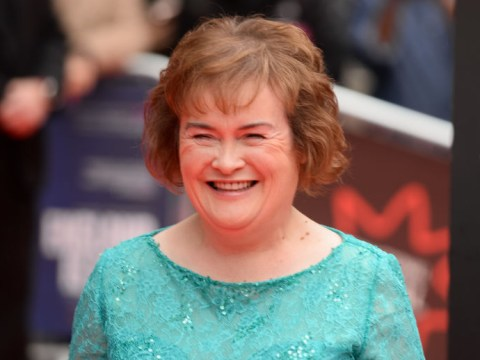 'Excited' Susan Boyle talks America's Got Talent: The Champions spot