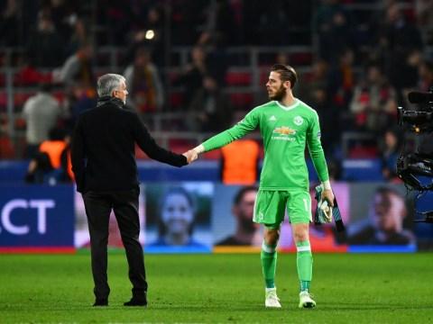 Jose Mourinho ready to break world transfer record as he prepares for life after David de Gea