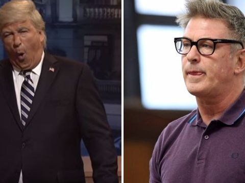 Alec Baldwin jokes about assault charges as he returns to SNL as Donald Trump