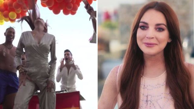 Lindsay Lohan shows off that iconic Mykonos dance in first look at her new reality show