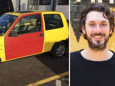 The Inbetweeners get their iconic car back as filming starts on 10th anniversary special