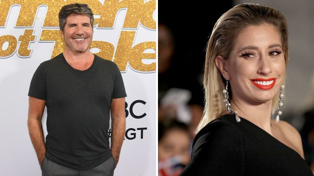Stacey Solomon jokes Simon Cowell is the 'Piers Morgan of music' as she addresses his Fleur East 'dig'
