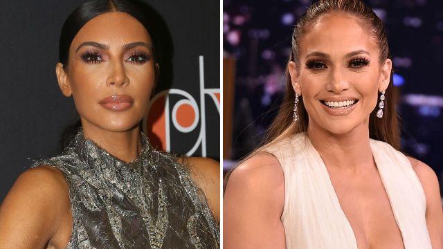 Kim Kardashian is the ultimate fan girl as she enjoys movie night with Jennifer Lopez