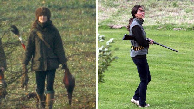 Kate made sure Meghan left Sandringham 'before joining hunt with her shotgun'